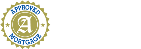 Approved Mortgage Logo in white